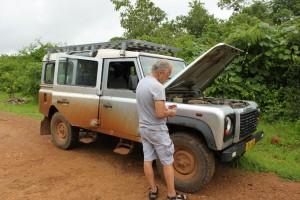 Malawi, Land Rover, Wartung