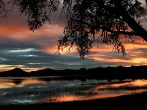 Malawi, Sonnenuntergang