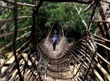 Malawi Hängebrücke