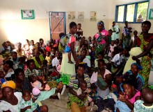 Malawi, Krankenstation Kayelekera